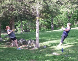 TRX at Hillandale Park